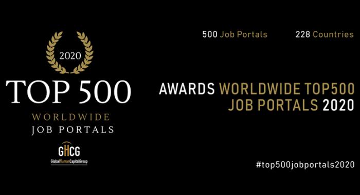 موقع جوبس للتوظيف ضمن قائمة (أفضل 500 منصة وظائف على مستوى العالم لعام 2020)